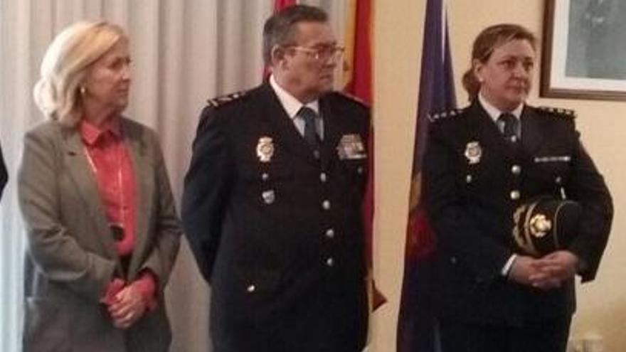 Estíbaliz Palma primera mujer comisaria provincial de Pontevedra