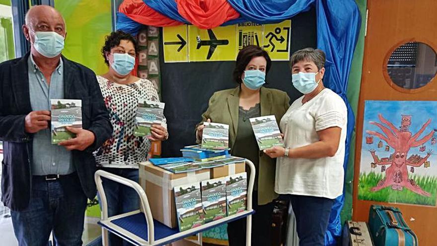 Pazos de Borbén edita 500 agendas para los escolares