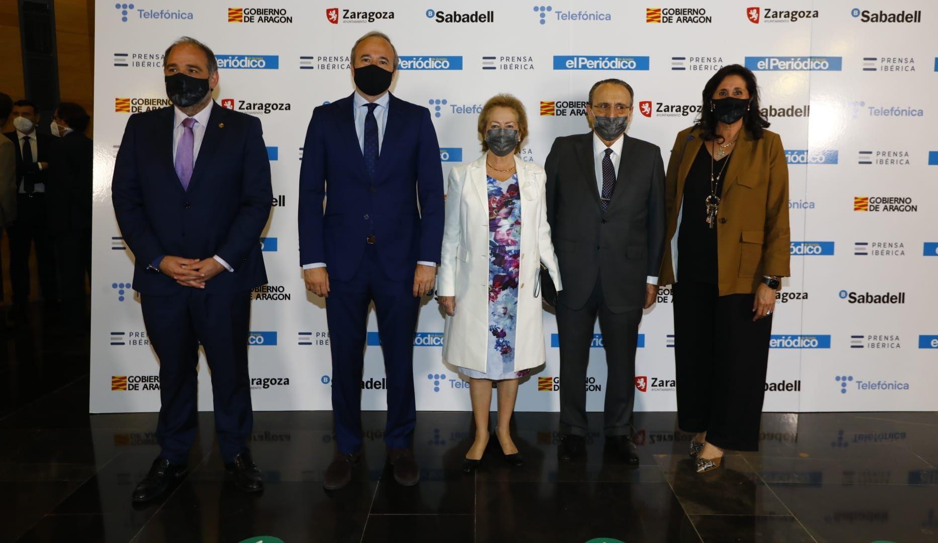 Alfonso Mendoza Trell, Jorge Azcón, Arantza Sarasola, Javier Moll, Paloma Espinos