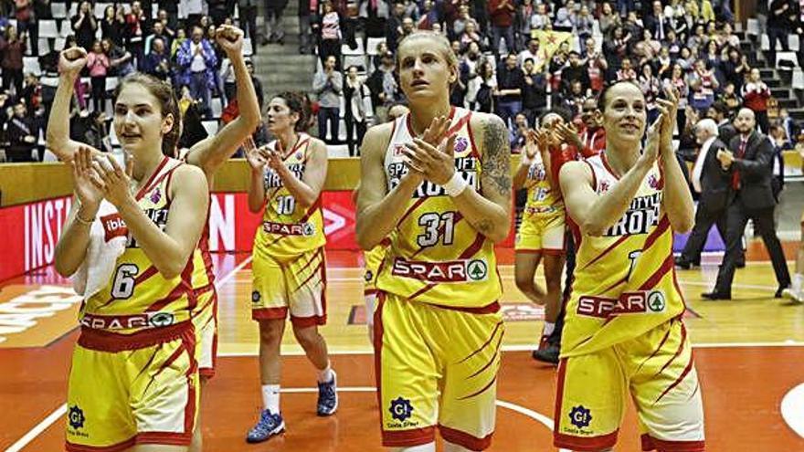L'Spar Citylift Girona rescindeix Nadia Colhado