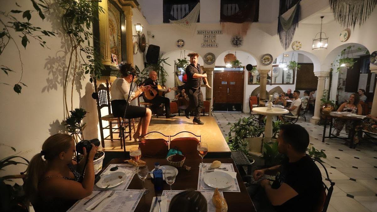 Imagen de archivo de un espectáculo flamenco.