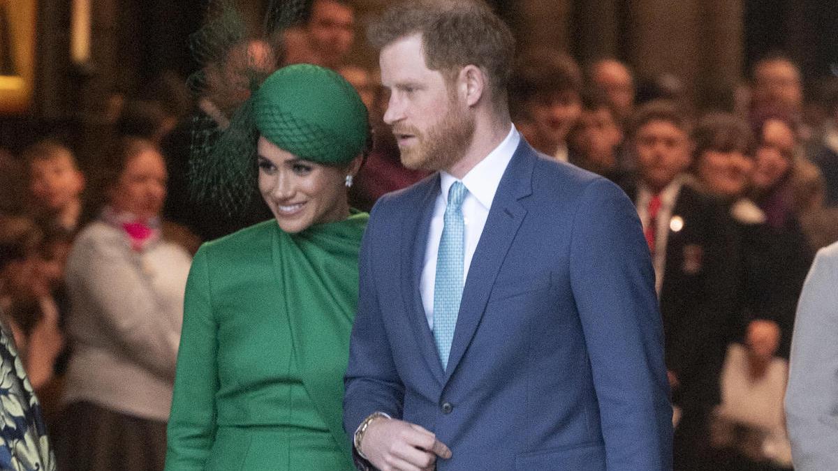Harry y Meghan.