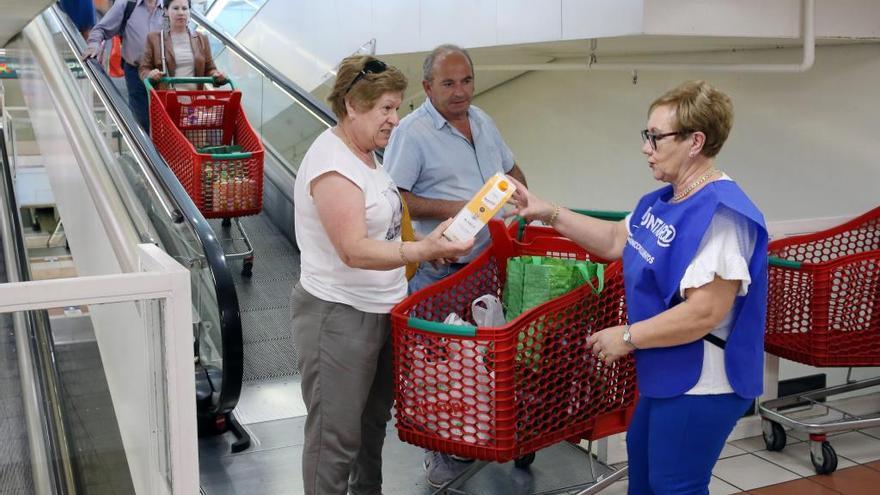 El Banco de Alimentos de Vigo vuelve a pisar los supermercados