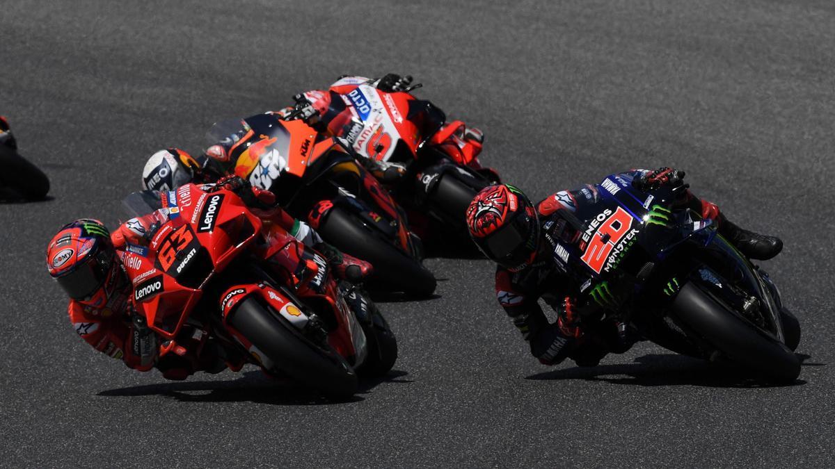 Así queda la clasificación de MotoGP tras el GP de Italia