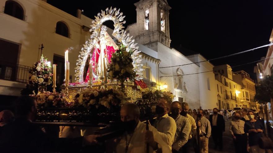 La Virgen de la Cabeza, primera imagen que recorre las calles de Bujalance desde el inicio de la pandemia