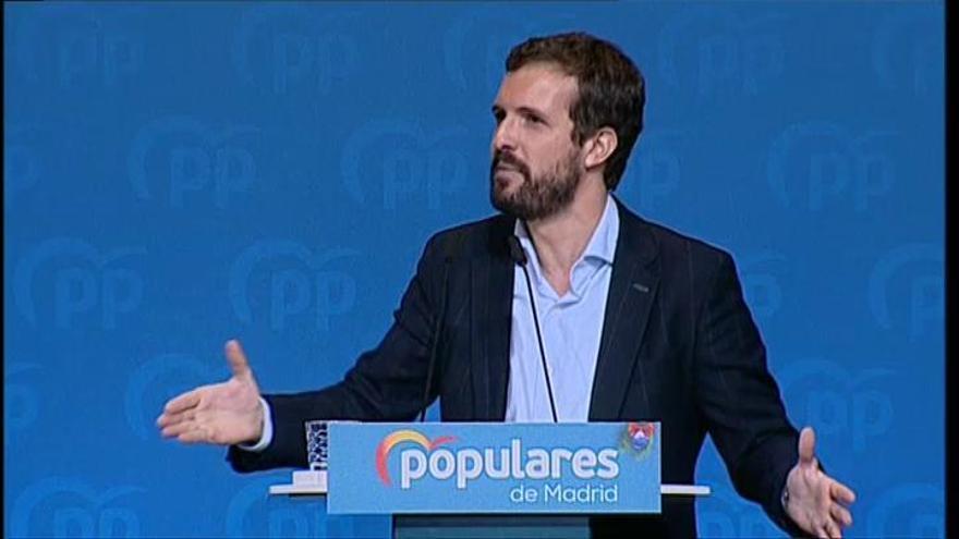 """Casado: """"En Cataluña hay un conflicto de legalidad"""""""