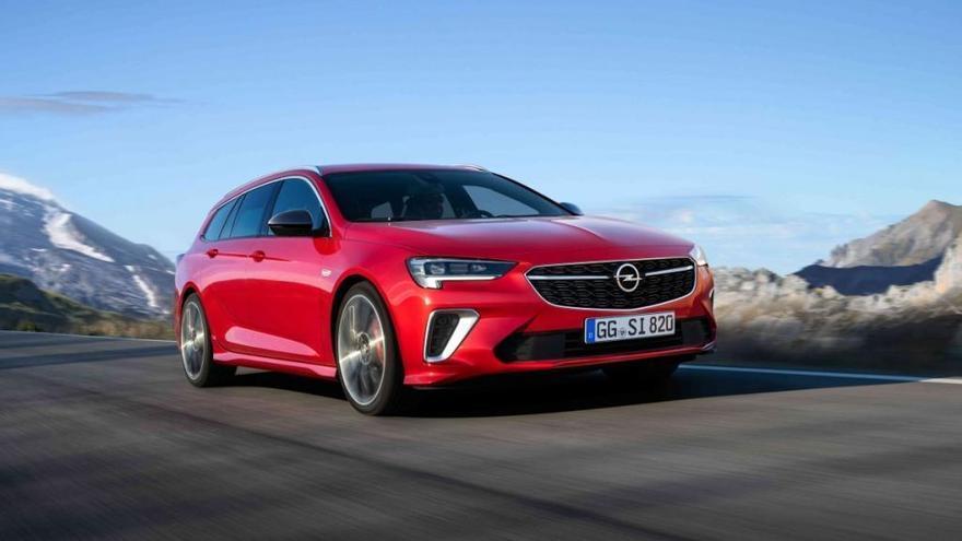 El Opel Insignia 2020 llegará con versión GSi