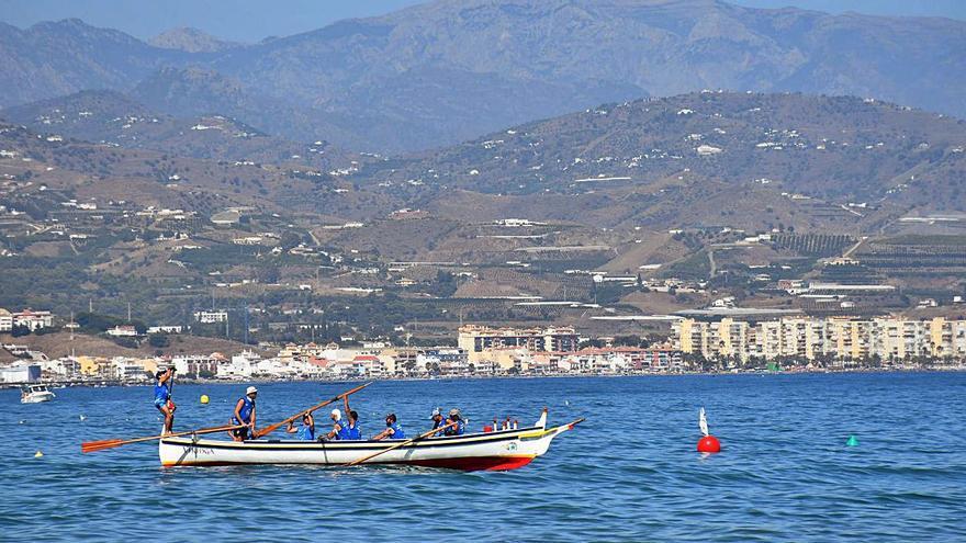 Espectacular jornada de regatas en el GP Torre del Mar