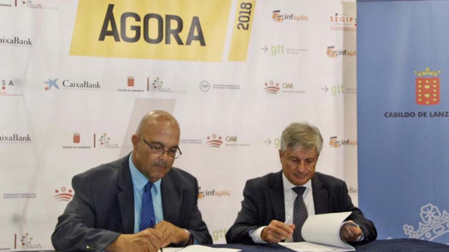 Tinajo, Haría, Teguise y Arrecife unifican las gestiones del catastro
