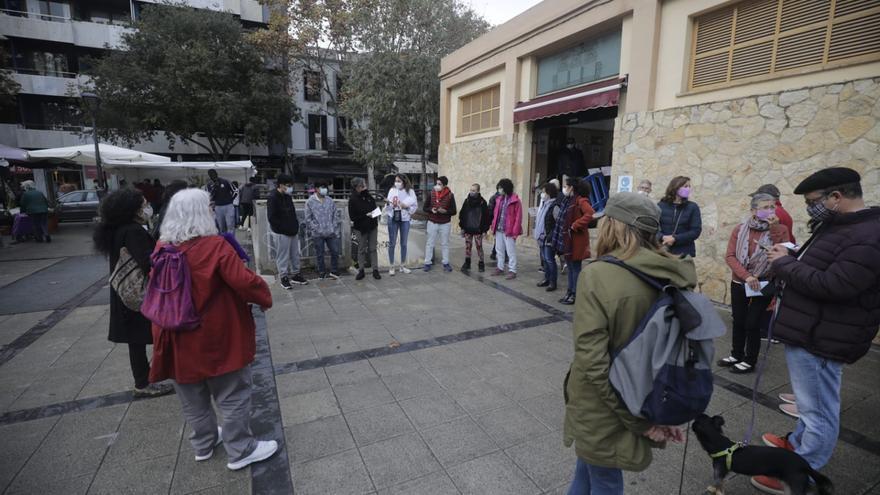 Homenaje en Palma a las más de 50 mujeres asesinadas por violencia machista