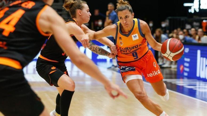 Queralt Casas, baja en el estreno en EuroCup Women