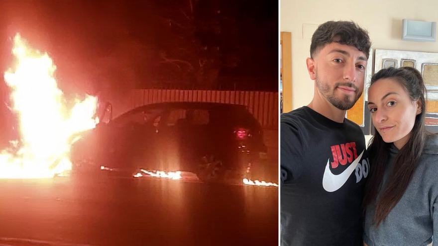 """""""El motorista atropellado en Castelló tenía la pierna colgando por tres tendones y el coche huyó"""""""