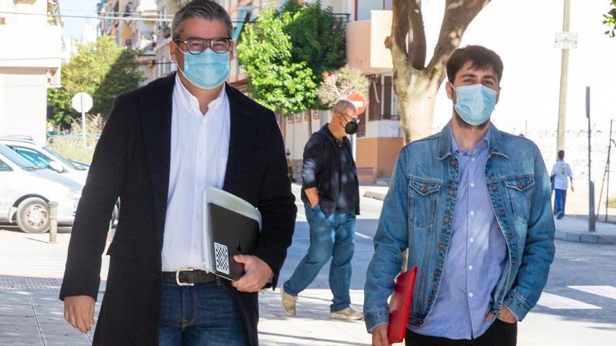 Declaran como investigados en el caso de los chats de San Vicente el concejal Guillermo García y el exedil Lorenzo
