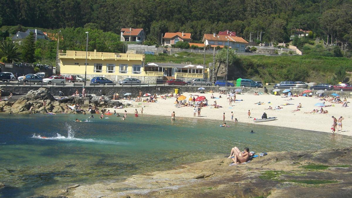 Playa de Area Grande, en A Guarda.
