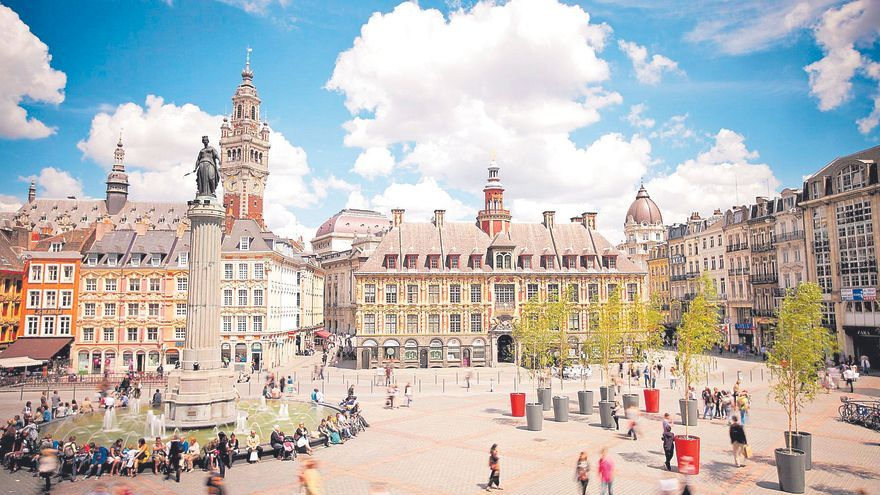 Lille, la ciudad francesa de estilo flamenco