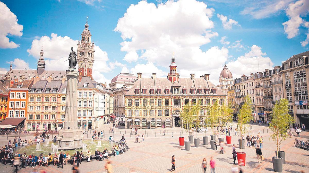 La Grand Place centro neurálgico de Lille.