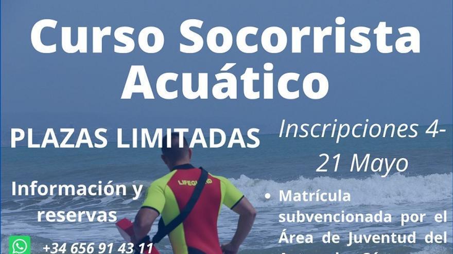 Curso de socorrismo acuático