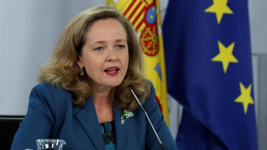 La vicepresidenta del Gobierno Nadia Calviño