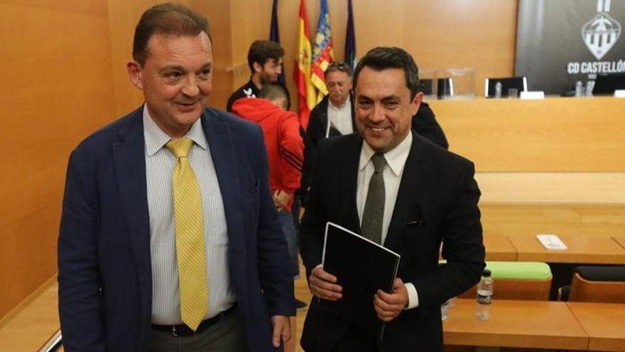 Garrido, Montesinos y Cano comparecerán el jueves por la delicada situación del Castellón