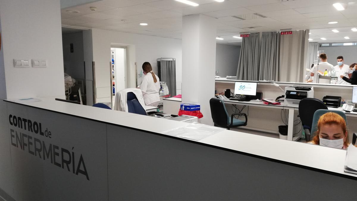 Nueva área de Hospitalización de Tránsito del HUC.