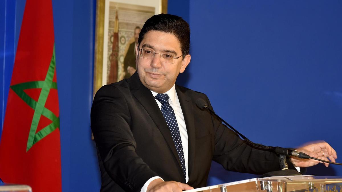 Nasser Bourita, ministro de Exteriores de Marruecos.