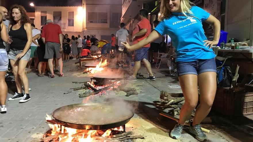 Gilet celebra su noche de paellas