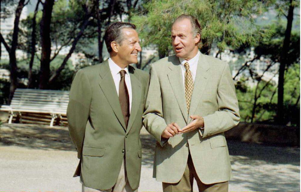 Juan Carlos junto a Adolfo Suarez, les unía una gran amistad.