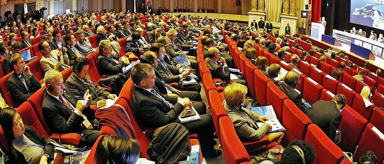 El gran congreso organizado por la FAO en Vigo en 2015.