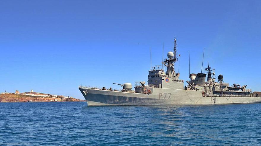 Misión de vigilancia marítima en el Estrecho