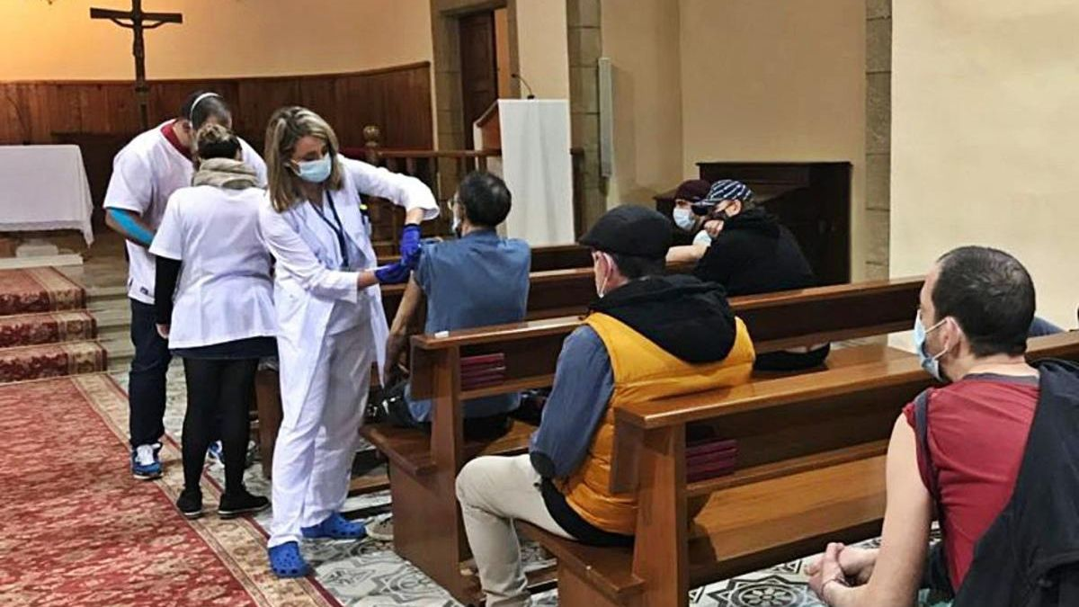 La vacunació es trasllada a un convent de la Bisbal d'Empordà