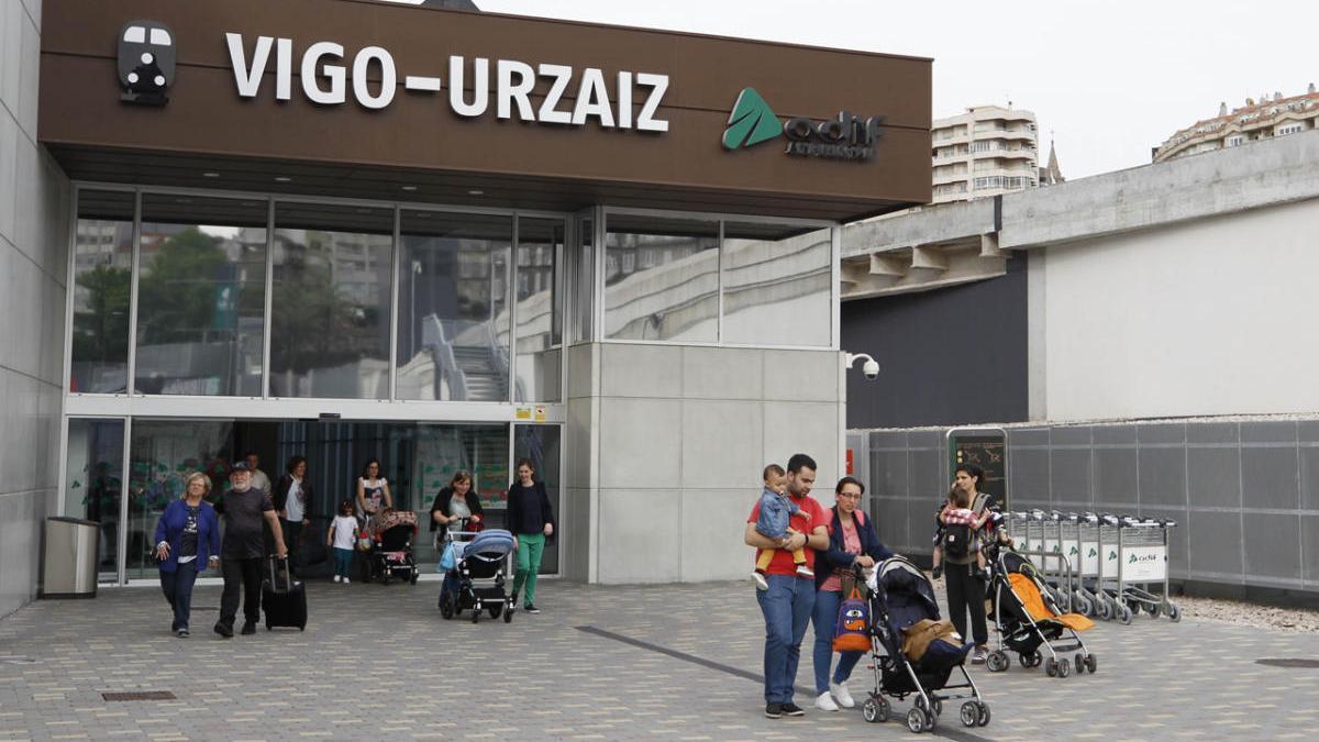 La estación de tren de Urzáiz, en Vigo, / José Lores