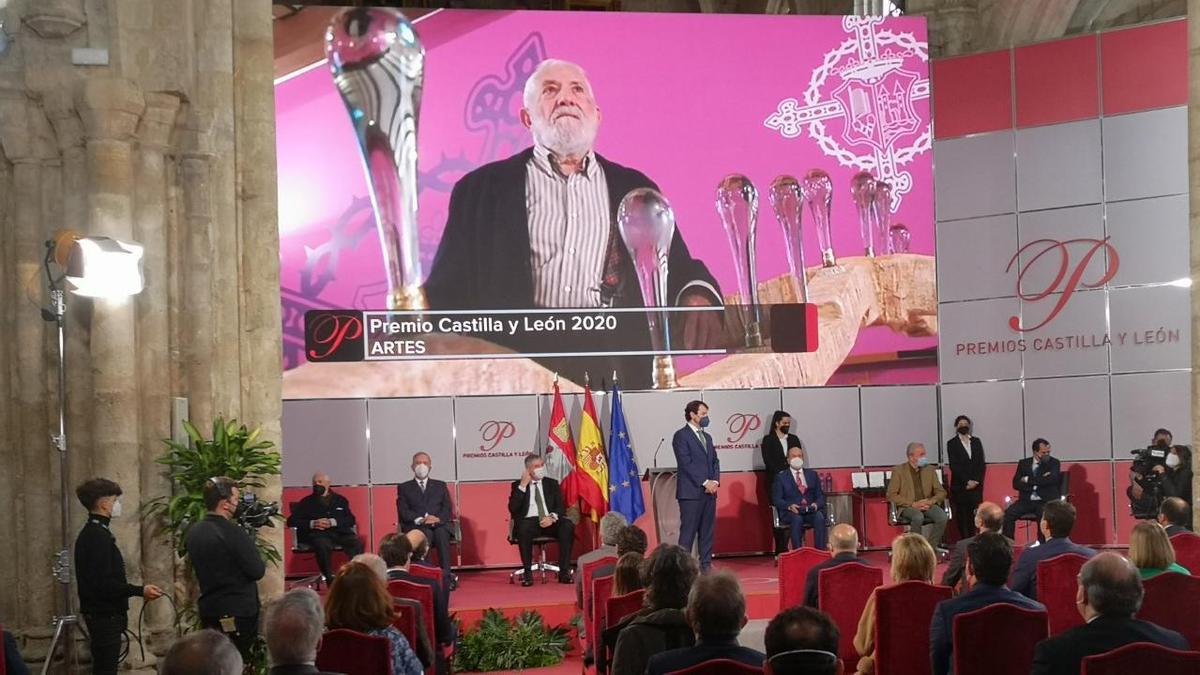 Coomonte recoge el Premio de las Artes de Castilla y León.