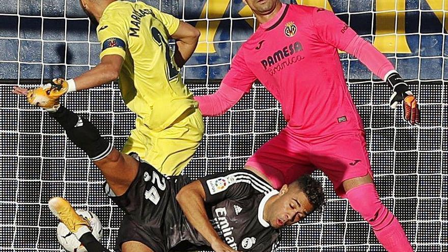 El Madrid se deja dos puntos en La Cerámica