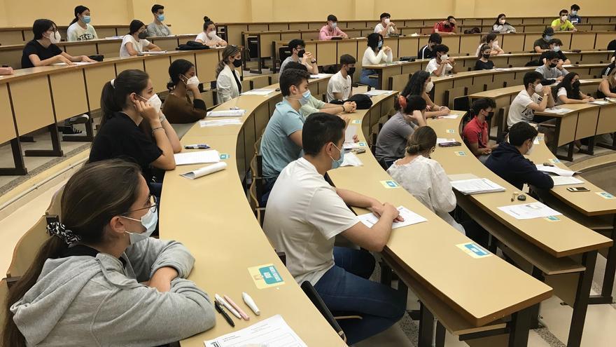 El 73% de los alumnos aprueba la EBAU extraordinaria
