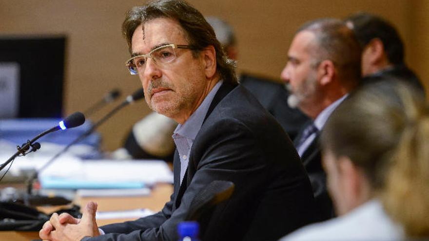 Luis Soria afirma que nunca autorizó a Perdomo a anticipar las bases del concurso eólico