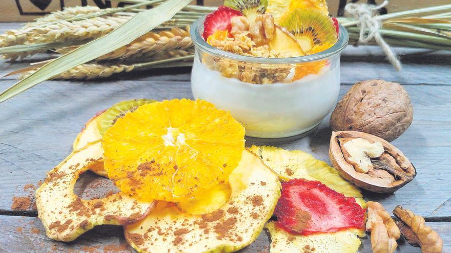 La fruta deshidratada se abre paso en la mesa