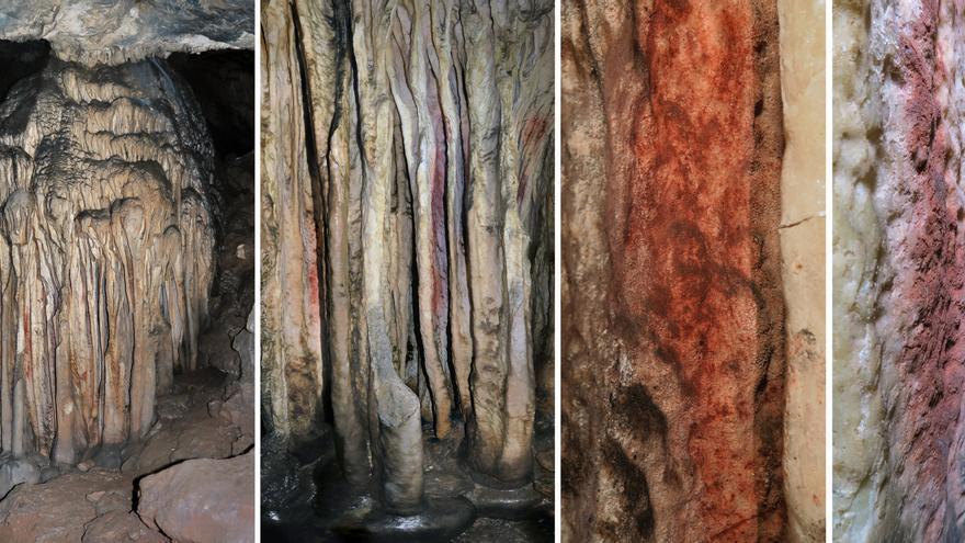 Científicos constatan en las cuevas de Ardales el origen humano de las pinturas más antiguas del mundo