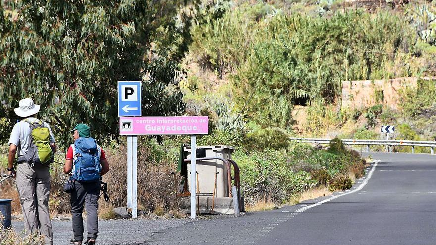 El Cabildo expropia 57 terrenos  para la nueva vía a Guayadeque