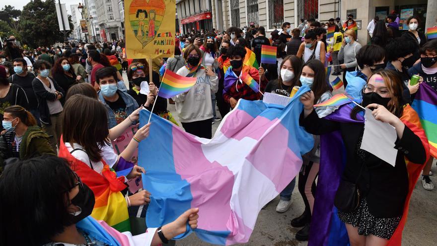 Día del Orgullo LGTBI 2021 en A Coruña