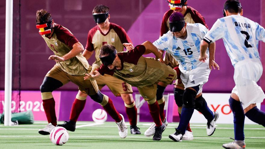 España de fútbol ciegos cae ante Argentina y se la jugará ante Marruecos