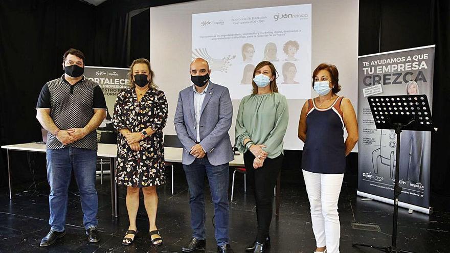 Gijón impulsa un programa para emprendedoras