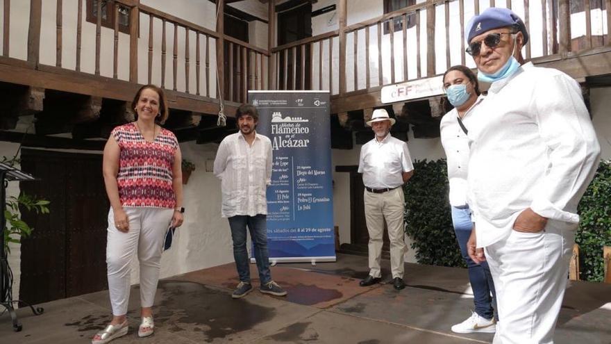 El Pele, La Fabi y Niño Seve llevarán su flamenco al Alcázar en agosto