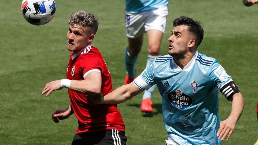 El Celta B pierde en Burgos pero amarra el segundo puesto