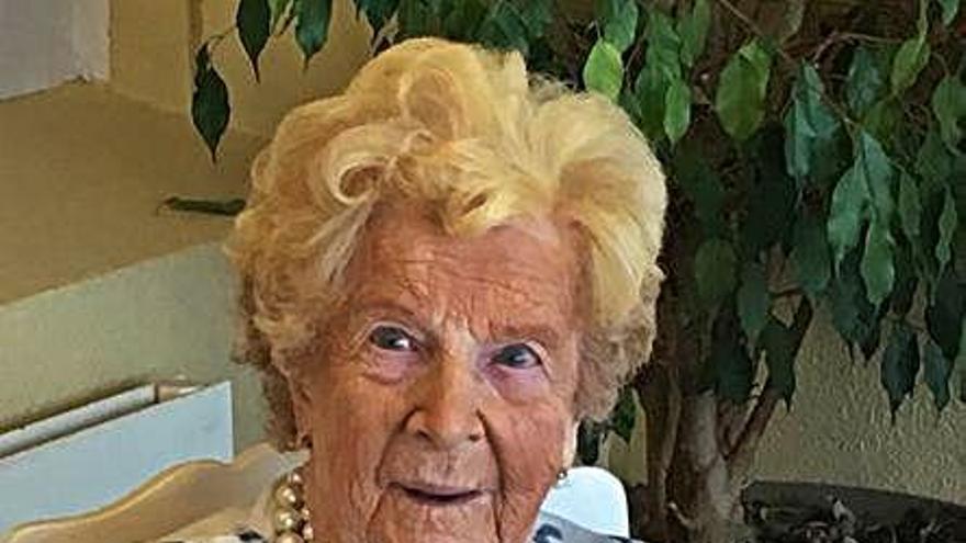 Fallece a los 103 años la coruñesa Titina Menéndez, 'la centenaria más joven'