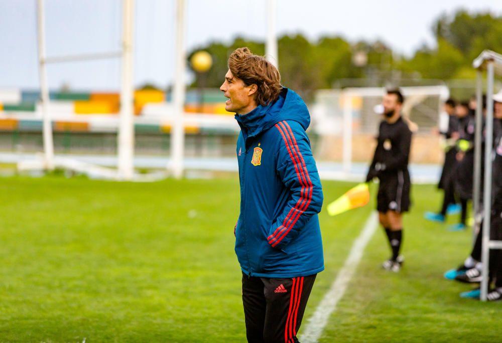 España sub-16 debuta con victoria en L'Alfàs del Pi ante Japón (4-2)