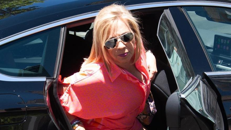 Carmen Borrego guarda silencio ante los rumores de una mala relación con Terelu