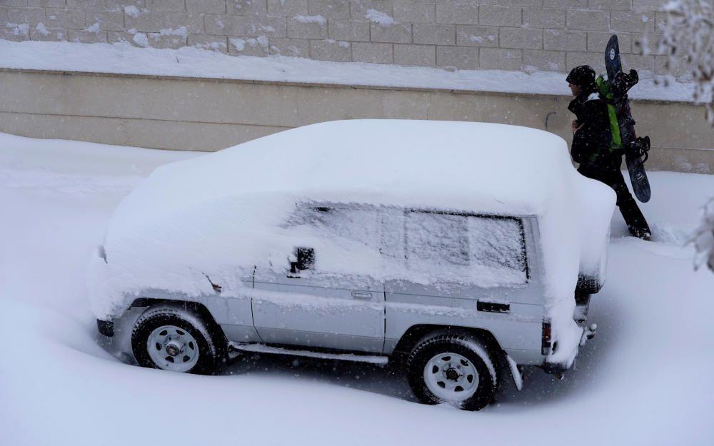 La nevada por la borrasca Filomena colapsa Madrid