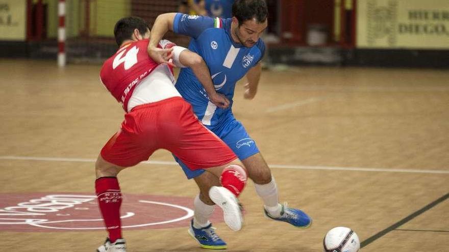 El Inversia Estrada Futsal recibe al Praias de Barreiros