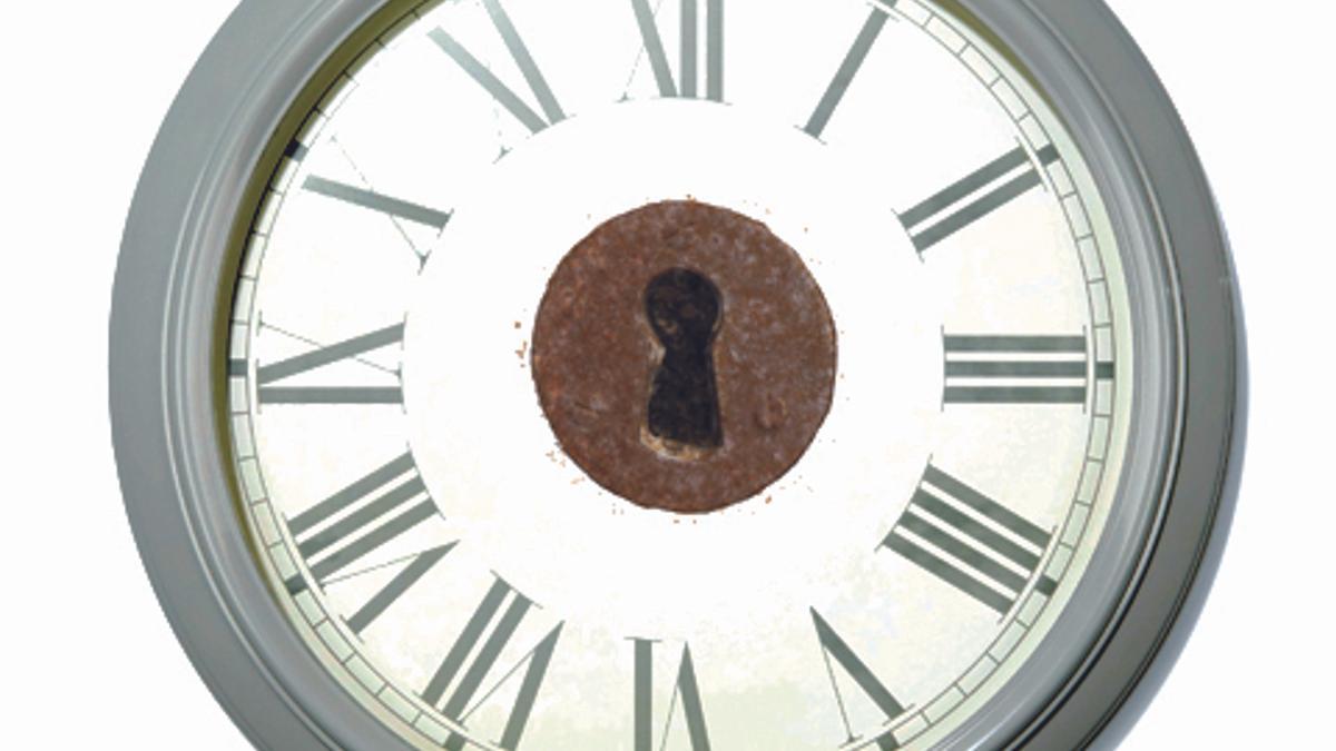 Ilustración de un reloj