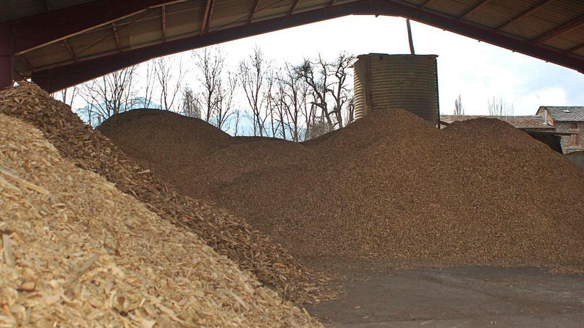 Una caldera de biomassa de les que es van instal·lar a la Cerdanya la dècada passada
